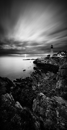 Time Warp at the Portland Head Lighthouse