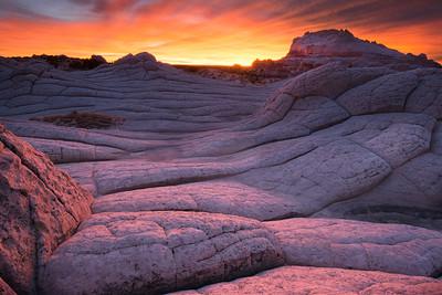 White Pocket Sunset