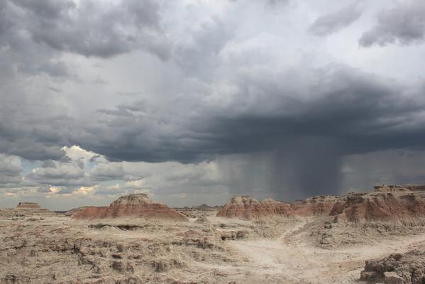 Storm, Big Badlands Overlook