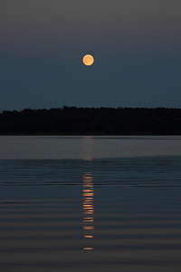 Moonrise Over Bass Lake