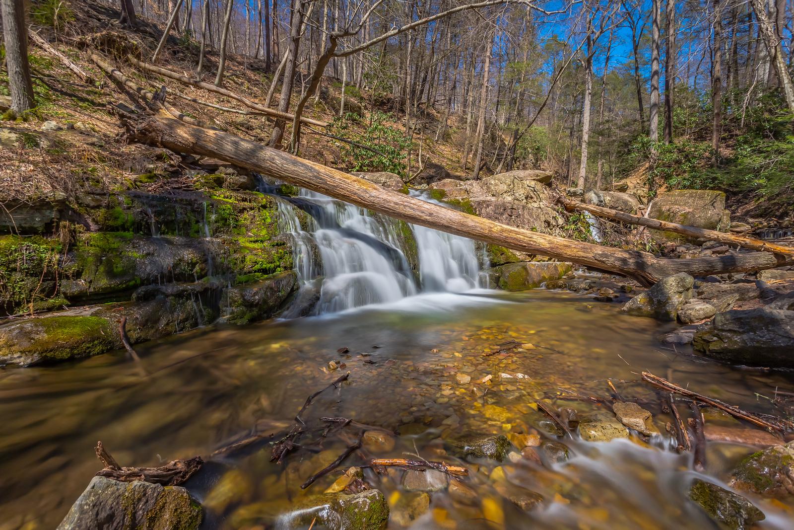 Falls on Dunnfield Creek