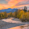 Methow River Sunset