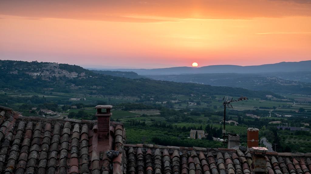 Provencal Sunset