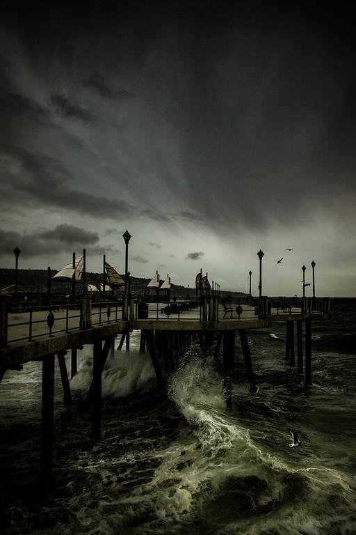 Redondo Beach Pier, January 20th, 2017.