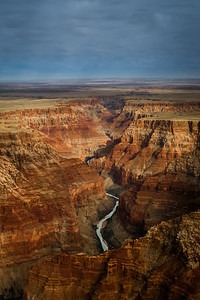 Aerial View of the Colorado River in the Grand Canyon, photographed by Kevin Gilligan