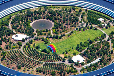 Apple Corp Headquarters Campus
