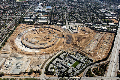 Apple Campus Construction  09/2014