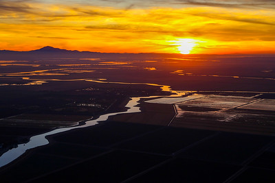 Delta Sunset, West of Lodi