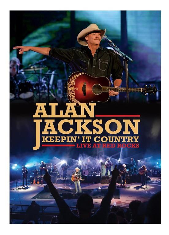 Alan Jackson at Red Rocks DVD Cover