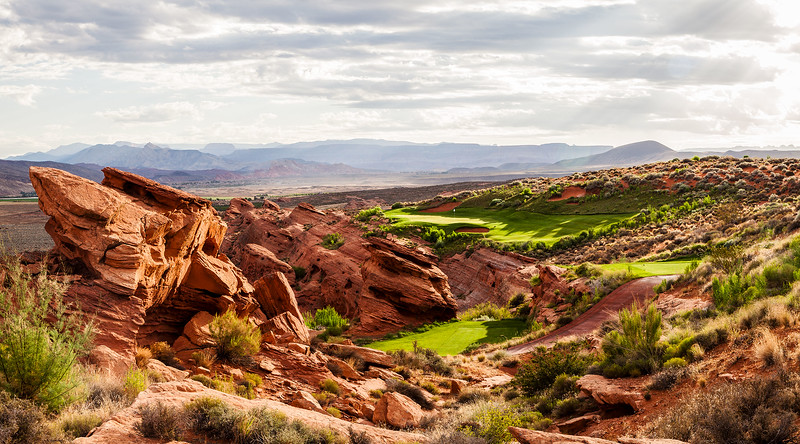 Sand Hollow - Championship Course  by Brian Oar