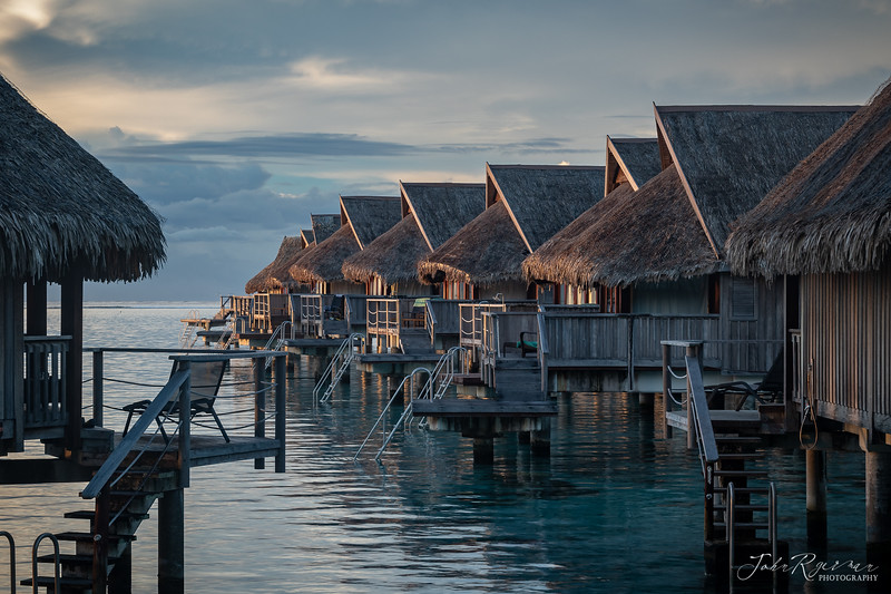 Moorea in French Polynesia