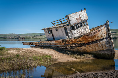 Point Reyes Boat Wreck - California, USA