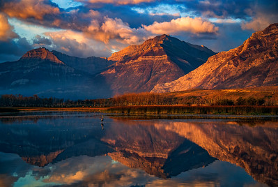 Maskinonge Lake, Waterton Lakes National Park