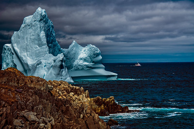 Iceberg-The Blue Monster, Grates Cove