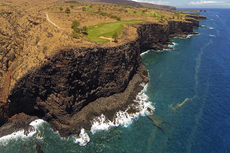 Manele Bay Golf Course - Hole 13 - Island of Lana'i, Hawaii