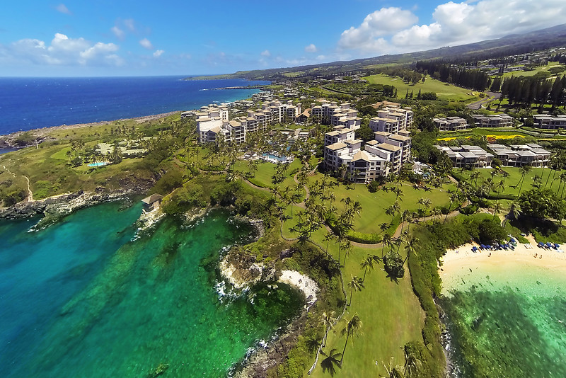 Drone Cam Hawaii - Montage Resort at Kapalua - Maui, Hawaii