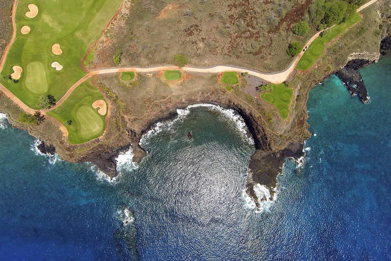 Four Seasons Manele Bay Golf Course - Hole #12