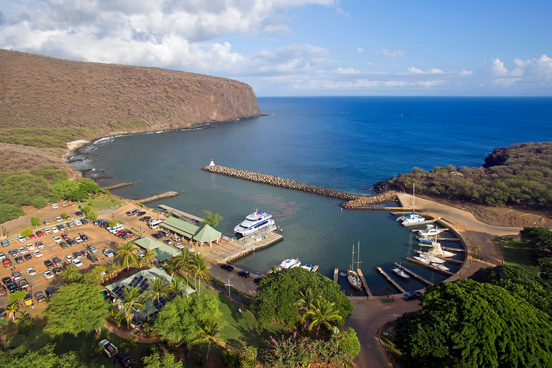 Manele Harbor - Island of Lana'i - Hawaii