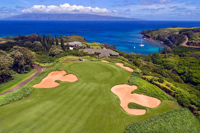 """Kapalua Plantation Course #11"" - Island of Maui, Hawaii"