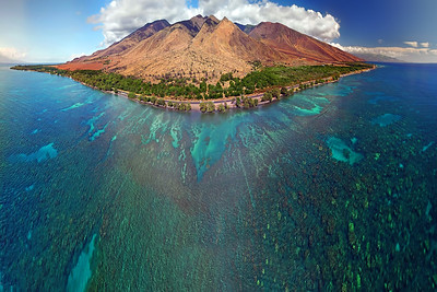 Drone Aerial Prints & More - Maui Reef  - Hawaii
