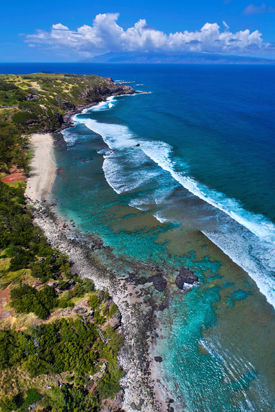 Windmills Beach (Punalau Beach) - Island of Maui, Hawaii