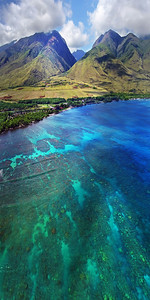"Hawaii Drone Photography - ""Maui Vertical"""