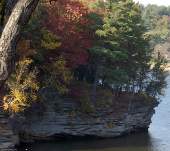 Fall in the Dells - Wisconsin