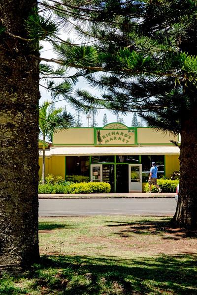 Dole Park - Richard's Market - Lana'i, Hawaii