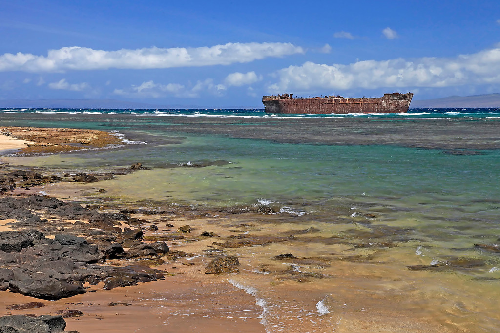 Shipwreck Beach (Kaiolohia) - Lana'i, Hawaii
