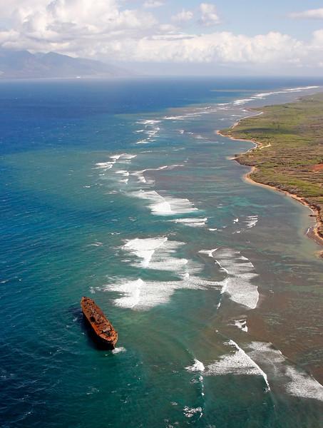 Kaiolohia (Shipwreck Beach) - Lana'i, Hawaii