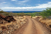 Road to Polihua Beach - Lana'i, Hawaii