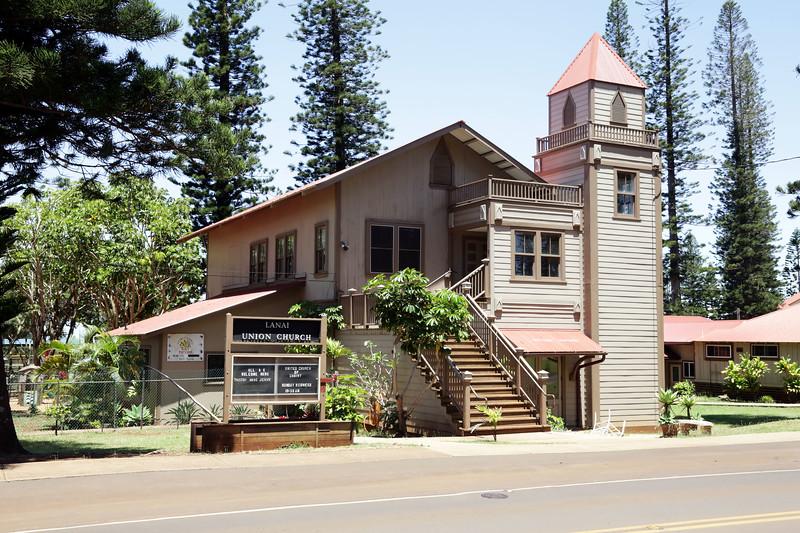 Union Church Building - Lana'i, Hawaii