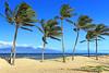 Lana'i, Hawaii (Maui on Horizon)