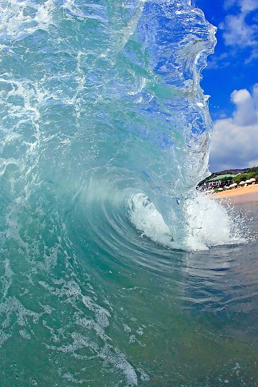 Wave - Hulopo'e Beach - Lana'i, Hawaii