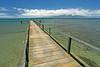 Pier - Maui on Horizon - Lana'i, Hawaii