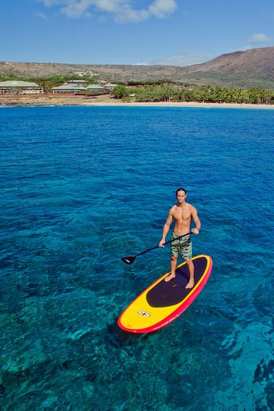 Stand Up Paddle Board - Hulopo'e