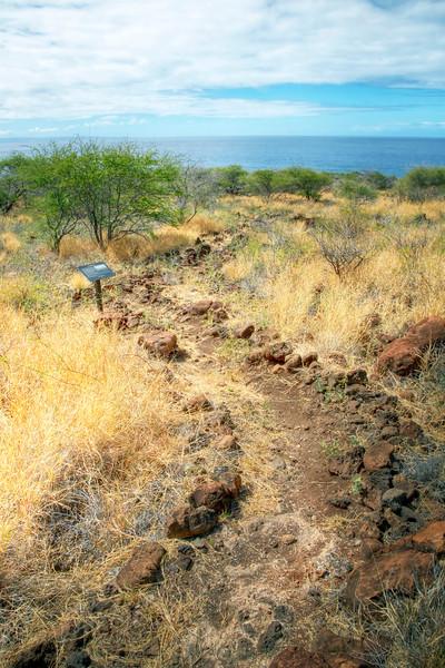 Kapihaa Village Trail - Lana'i, Hawaii