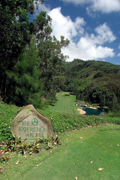 The Experience at Koele - 17th Hole - Lana'i, Hawaii