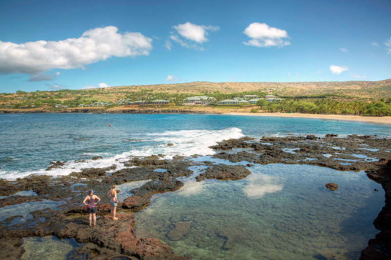 Tide Pools at Hulopo'e Bay - Lana'i, Hawaii