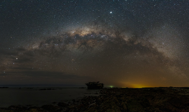 Magical Milky Way, Meisho Maru No. 38,  Agulhas National Park 2020