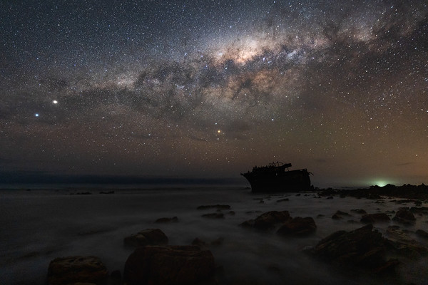 Magical Milky Way, Meisho Maru No. 38,  Agulhas National Park 2020