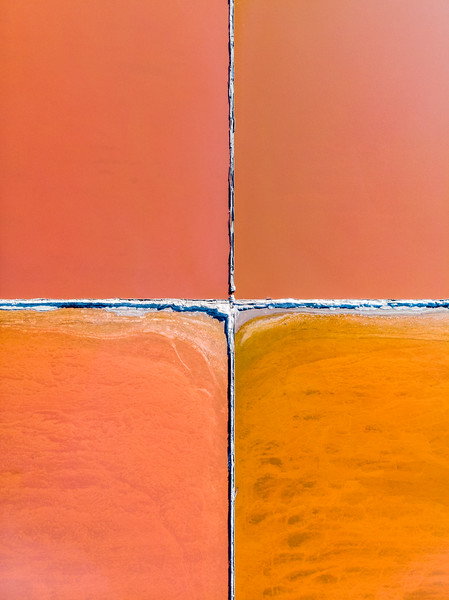 Salt Pan abstract, Velddrift 2020