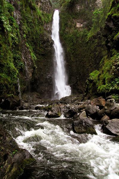 Hanawi Falls (Vertical) - Island of Maui - Hawaii