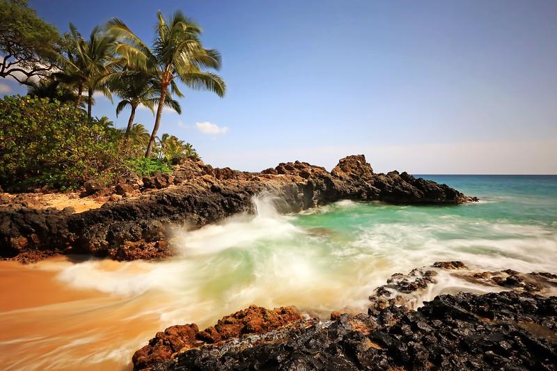 Makena Cove (Secret Beach) - Island of Maui, Hawaii