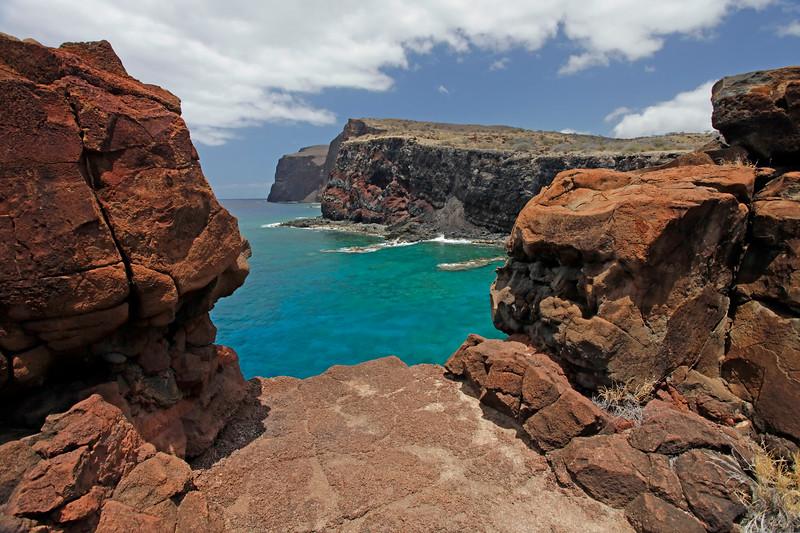 """Kahekili's Leap"" - Island of Lana'i, Hawaii"
