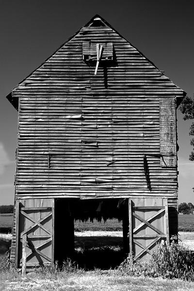 Old Kentucky Tobacco Barn