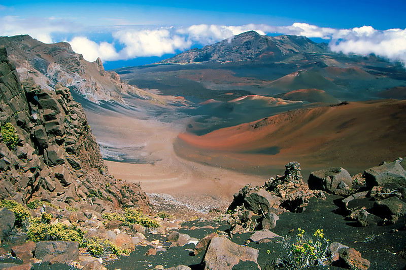 """Haleakala Crater"" (1) - Island of Maui, Hawaii"