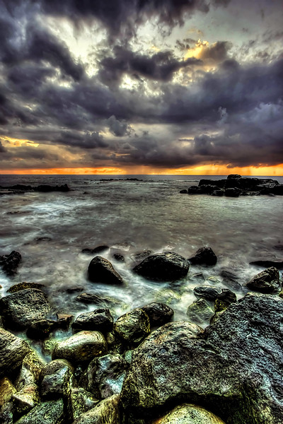 """""""Sunset Storm"""" - Hawaii"""