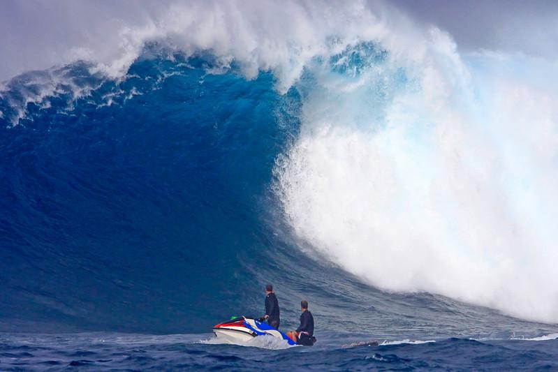 "Wave Images - ""Beautiful Monster"" - Peahi (Jaws Beach) - Island of Maui, Hawaii"