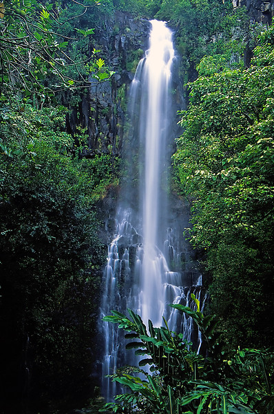 """Wailua Falls"" - Island of Maui, Hawaii"